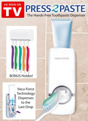 PRESS 2 PASTE Plastic Bathroom Set at flipkart