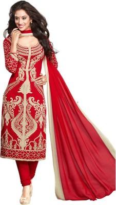 Women Shoppee Polycotton Self Design Salwar Suit Dupatta Material(Unstitched)
