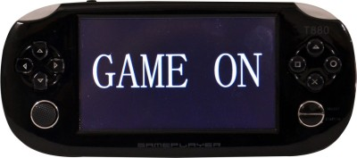 GAME ON PSP T880 64BIT 4 GB with 300 GAMES INBUILT(Red)