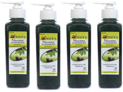 khadi abeers HWNH250Q3(250 ml, Pump Dispenser, Pack of 4)