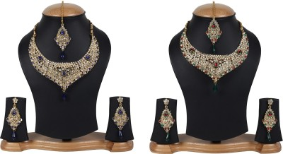 Jewels Gehna Alloy Jewel Set(Multicolor) at flipkart