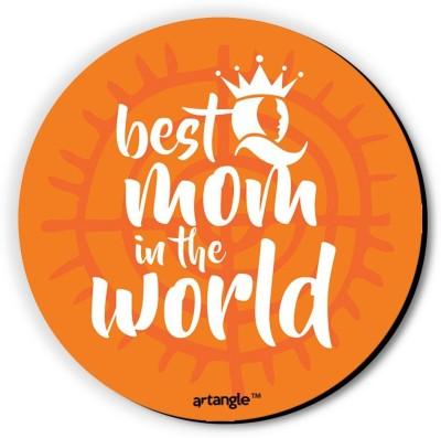 Seven Rays Best Mom In The World Fridge Magnet Pack of 1