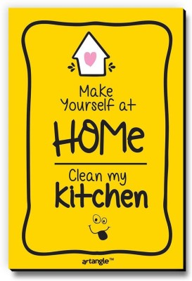 Seven Rays Make Yourself At Home Clean My Kitchen Fridge Magnet Pack of 1