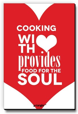 Seven Rays Cooking With Love Provides Food For The Soul Fridge Magnet Pack of 1