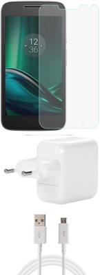 FELICITY Screen Protector Accessory Combo for Moto G4 Play(Transparent)