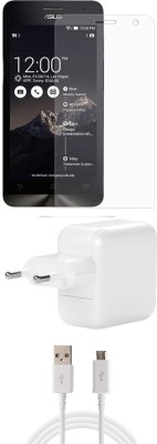 FELICITY Screen Protector Accessory Combo for Asus Zenfone Laser 500kl(Transparent)