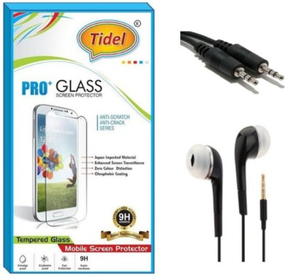 Tidel Screen Protector Accessory Combo for Redmi Note 4 Transparent