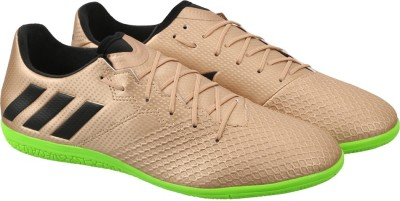ADIDAS Messi 16.3 In Football Shoes For Men Green, Black