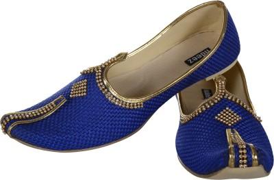 Ndeez Sherwani Juti For Men(Blue)