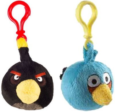 Angry Birds AB_3bpc_co2_5  - 9 cm(Multicolor)