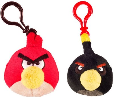 Angry Birds AB_3bpc_co2_1  - 9 cm(Multicolor)