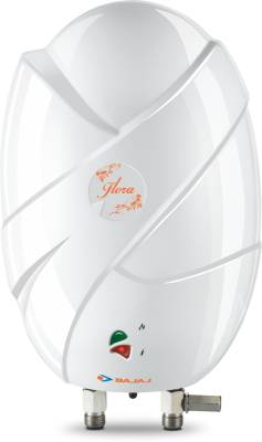 Bajaj 3 L Instant Water Geyser  (White, Flora 3L-3KW Heater)