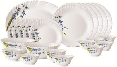 Larah By Borosil Lavender Pack of 27 Dinner Set(Glass) at flipkart