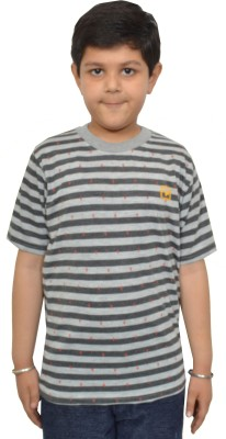 Shaun Boys Printed Cotton Blend T Shirt(Multicolor, Pack of 1)