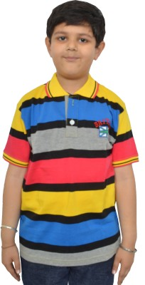 Shaun Boys Printed T Shirt(Multicolor, Pack of 1)