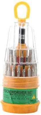 Adraxx Magnetic Precision Screwdriver Tool Set - 31 In 1(Multicolor) Image
