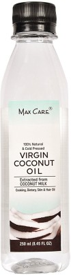 Maxcare Virgin Coconut Oil (Cold Pressed) 250ML(250 ml)  available at flipkart for Rs.220