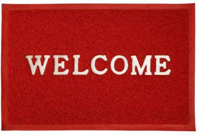 M G'S Real Decor PVC Door Mat MG-102(Multicolor, Free)  available at flipkart for Rs.250