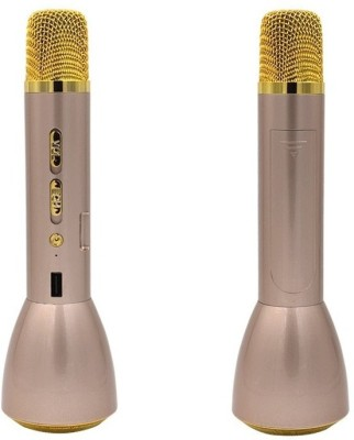 VibeX ® Portable Magic Karaoke Wireless Bluetooth K088 Speaker , Sing songs , Practice songs Microphone  available at flipkart for Rs.2499