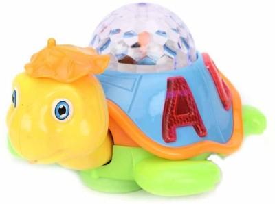 ALPYOG Electric Happy turtle(Multicolor)
