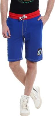 Jack & Jones Printed Men's Blue Basic Shorts  available at flipkart for Rs.999