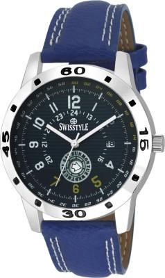 Swisstyle SS GR117 BLU BLU Analog Watch   For Men Swisstyle Wrist Watches
