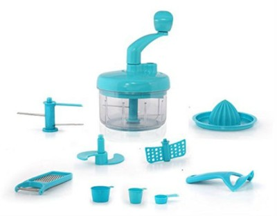 Shrih 7 in 1 Mini Food Processor Chopper(Blue)  available at flipkart for Rs.3399