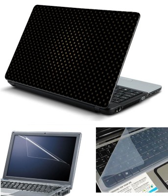 Psycho Art 3in1 Laptop Skin Pack with Screen Guard   Key Protector HQ140816 Combo Set Multicolor