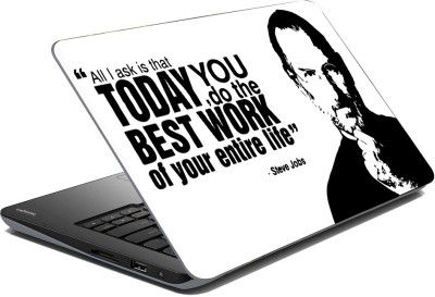 Vprint Steve jobs Vinyl Laptop Decal 14