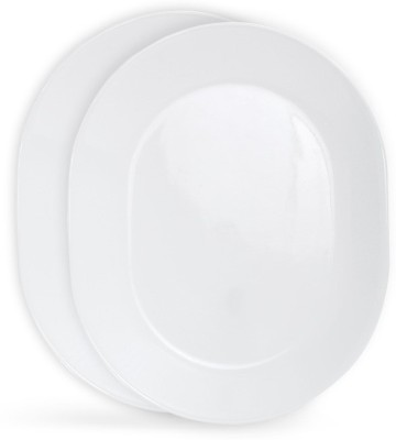 CORELLE Livingware Winter frost white Tray Set(2 Units) at flipkart