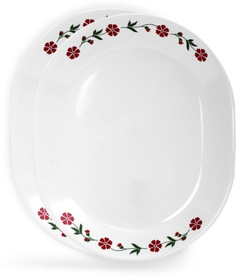 CORELLE Livingware Spring Pink Tray Set(2 Units) at flipkart