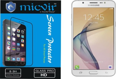 Micvir Tempered Glass Guard for SAMSUNG GALAXY ON 8(Pack of 1)