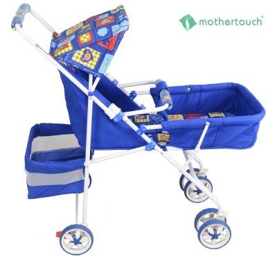 Mothertouch Pram Deluxe Pram(Blue)