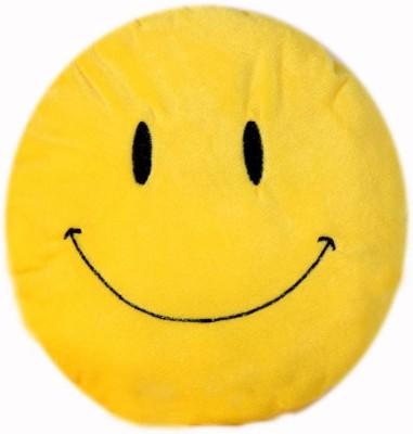 Lata Cute Smiley Emoji   35 cm Yellow Lata Soft Toys