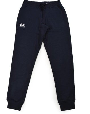 CANTERBURY Embroidered Men's Blue Track Pants