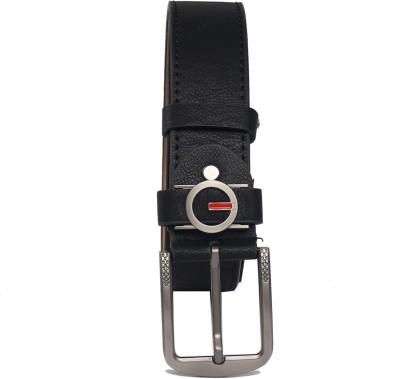 Integriti Men Casual Black Artificial Leather Belt 138713b329eda