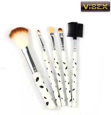 VibeX ® Beauty Tools Mini 5Pcs Soft Cosmetics Eyeshadow Powder Face Makeup Brush Set(Pack of 5) at flipkart