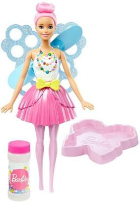 Barbie Dreamtopia Bubbletastic Fairy Doll(Multicolor)  available at flipkart for Rs.1199