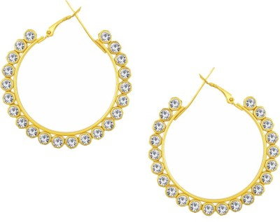 916b432d29 67% OFF on Meenaz Chandbali Fancy Earrings For Women /Girls Gold Plated  Bali Party Wear Ear Rings For Girls Jewellery Diamond Brass Earring Set on  Flipkart ...