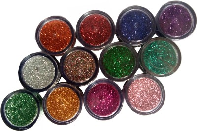 FAB Apple Shimmer Dust. Eye Shadow & Blush Glitter Vitamin-C 0.3 g(Multicolor)  available at flipkart for Rs.199