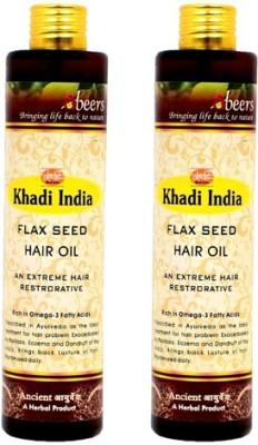 khadi abeers FLEX SEED OIL Hair Oil(225 ml)