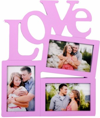 Archies Frames Generic Photo Frame(Purple, 3 Photos) at flipkart