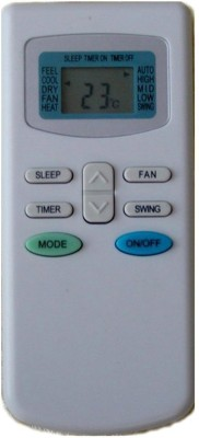 Fox TCL AC17REO Remote Controller(White)