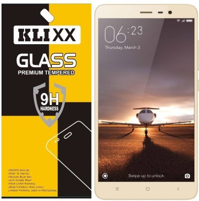 Klixx Tempered Glass Guard for Mi Redmi Note 3