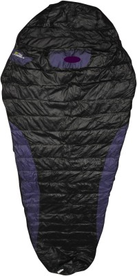 Bs Spy Duck Feather Cozy Dual Tone Sleeping Bag(Black)