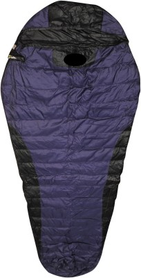 Bs Spy Duck Feather Warm Dual Tone Sleeping Bag(Purple)