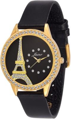 Jainx JW558 Paris Black Dial Analog Watch For Women