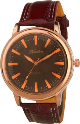 Timebre GXBLK590 DOOM Glass Analog Watch For Men
