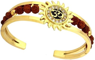 J S Imitation Jewellery Brass Yellow Gold Kada at flipkart
