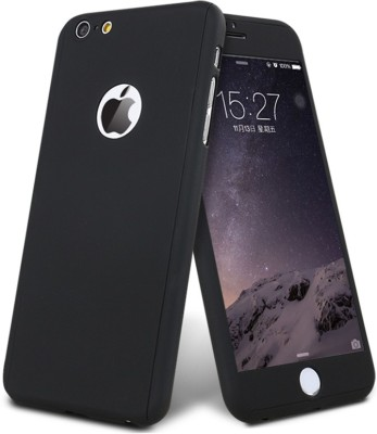 Spicesun Front   Back Case for Apple iPhone 7 Black